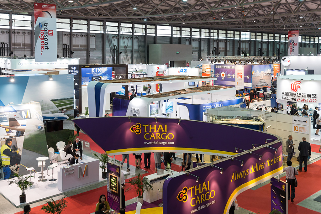 Exhibition Stand Logistics : Success story transport logistic china